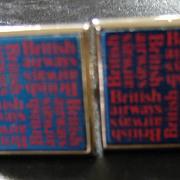 Bitish Airways Souvenir Cufflinks