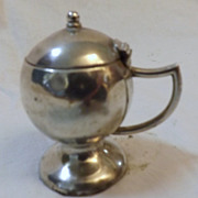 Sterling Silver Salt Pot - Birmingham 1906