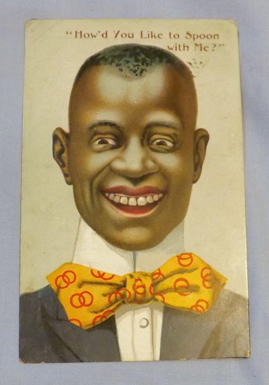 Black Americana Postcard -1907