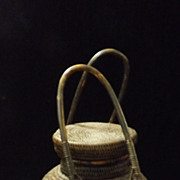 Superb Early 1900's Dayak Food Container