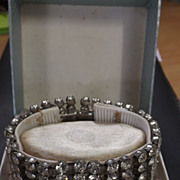 Lovely Diamante Bracelet  - Circa 1940's.