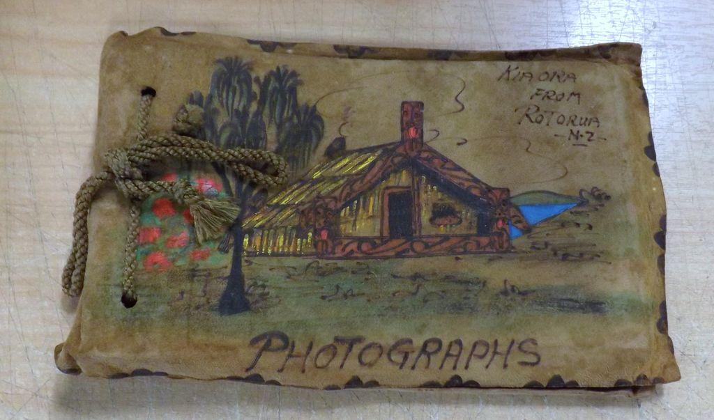 Kiwiana Souvenir  Photograph Album -Circa 1950's