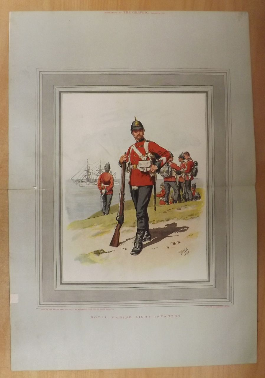 Royal Marine Light Infantry - The Graphic Double PAGE 1887