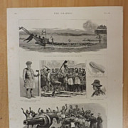With The Australian Squadron In New Zealand Waters - The Graphic 1887