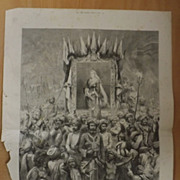 The Jubilee In The East - The Graphic 1887