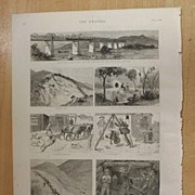 Discoveries Of Gold In The Transvaal - The Graphic 1887