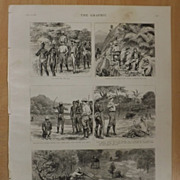 A Shooting Trip In Bengal, India, - The GRAPHIC 1887