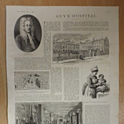 Guy's Hospital - The Graphic 1887