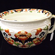 Gorgeous Victorian /Edwardian Chamber Pot