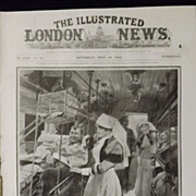 WWI - British Hospital Train -Illustrated London News 1918