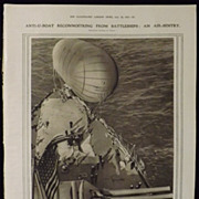 WWI -Anti U-Boat Spotting - Illustrated London News 1918