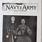 Kwangsu, The Son of Heaven - The Navy & Army Illustrated 1900