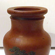Stunning Little Victorian Pottery Pot  / Vase- Dated 1856