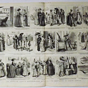 An English Ladies Experience With Servants in S.A. -The Graphic 1885