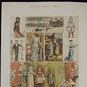 Children's Christmas Theatricals At The Squires - The Graphic 1880