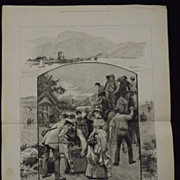 Holiday Rambles In Scotland -Illustrated London News 1883