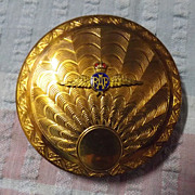 RAF Ladies Art Deco Powder Compact Circa WWII