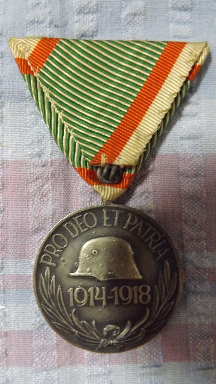 German WWI Medal For The Hungarian Campaign
