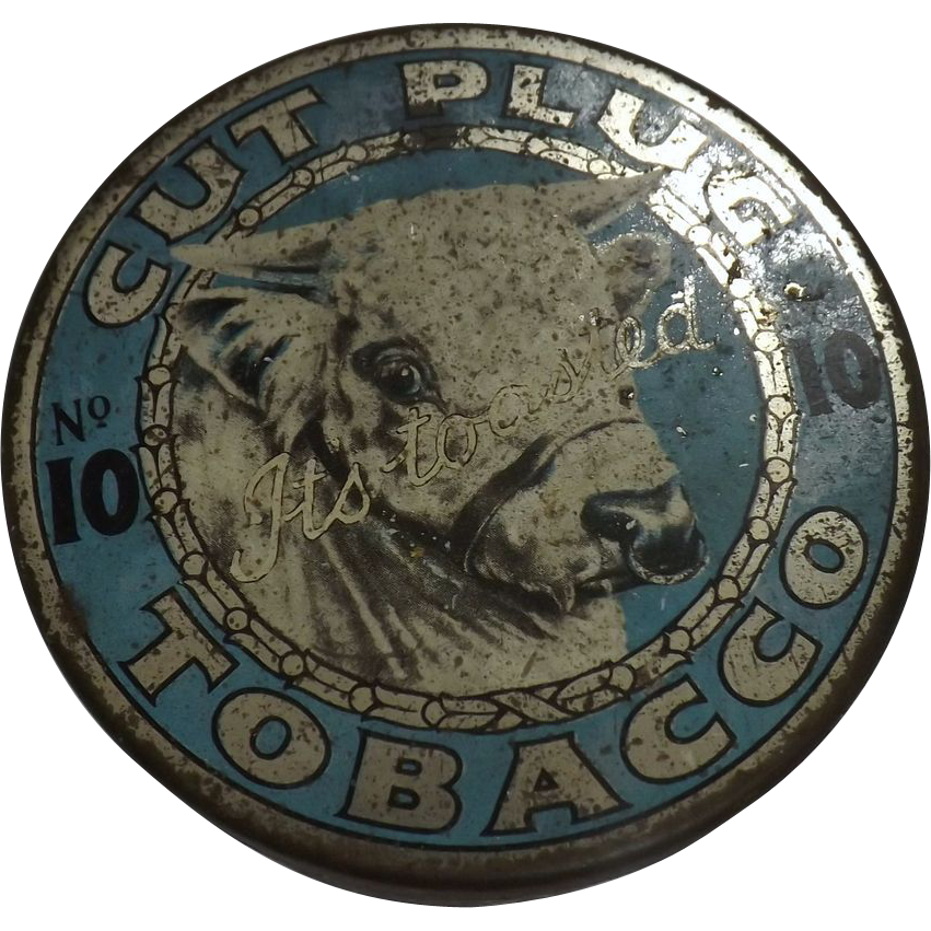 Tobacco Tin Cut Plug No. 10 - New Zealand