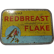 Tobacco Tin  Ogden's 'Redbreast' Flake