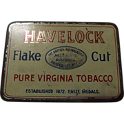 Tobacco Tin 'Havelock Flake Cut - Australia'