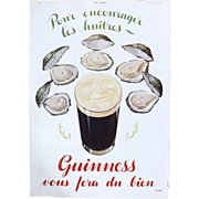 Art Deco 'GUINNESS' Advertisement  - The Sphere 1936