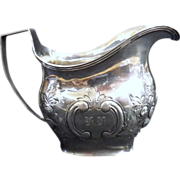 Georgian Sterling Silver Milk Jug