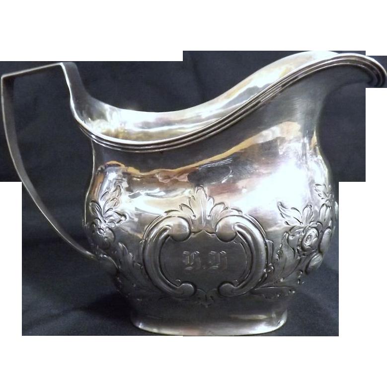 Georgian Sterling Silver Milk Jug