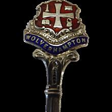 1937 Salisbury Silver Souvenir Teaspoon