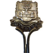 1909 Windsor Silver Souvenir Teaspoon
