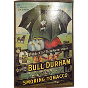 Bull Durham Tobacco Advert /Poster Re-Print