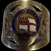 M.V. Waiwera Souvenir Napkin Ring