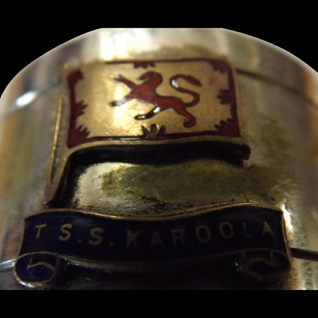TSS Karoola Napkin Ring