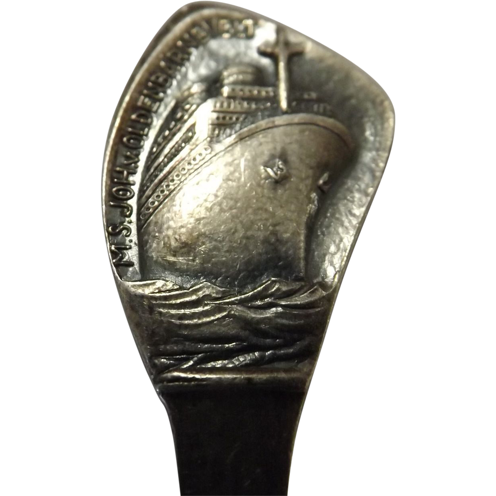 MS. Johan van Oldenbarnevelt Souvenir Teaspoon