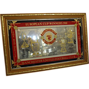 Manchester United Football Club 1968 European Cup Commemorative Mirror