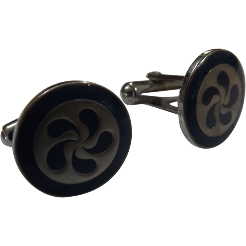 Polynesian Airlines Cuff Links