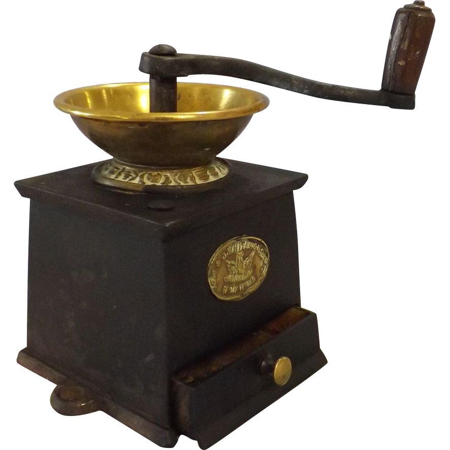 Victorian Coffee Grinder By J Amp J Whitehouse England