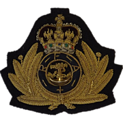 British Royal Navy Royal Fleet Auxiliary Cap Insignia
