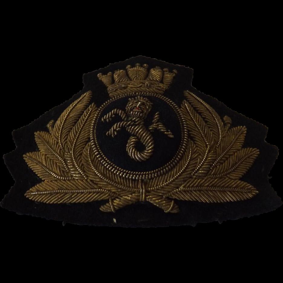 Union Castle Line Cap Insignia