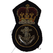 British Royal Navy  Cap Insignia - Petty Officer