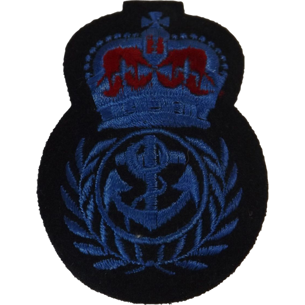 British Royal Navy  Cap Insignia - WRENS Chief Petty Officer