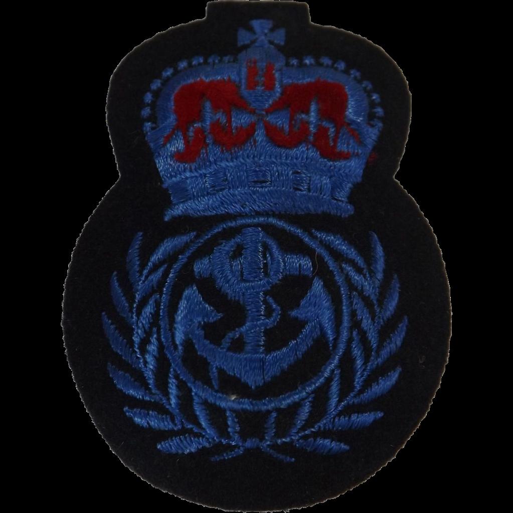 British Royal Navy  Cap Insignia - WRENS Chief Petty Officer