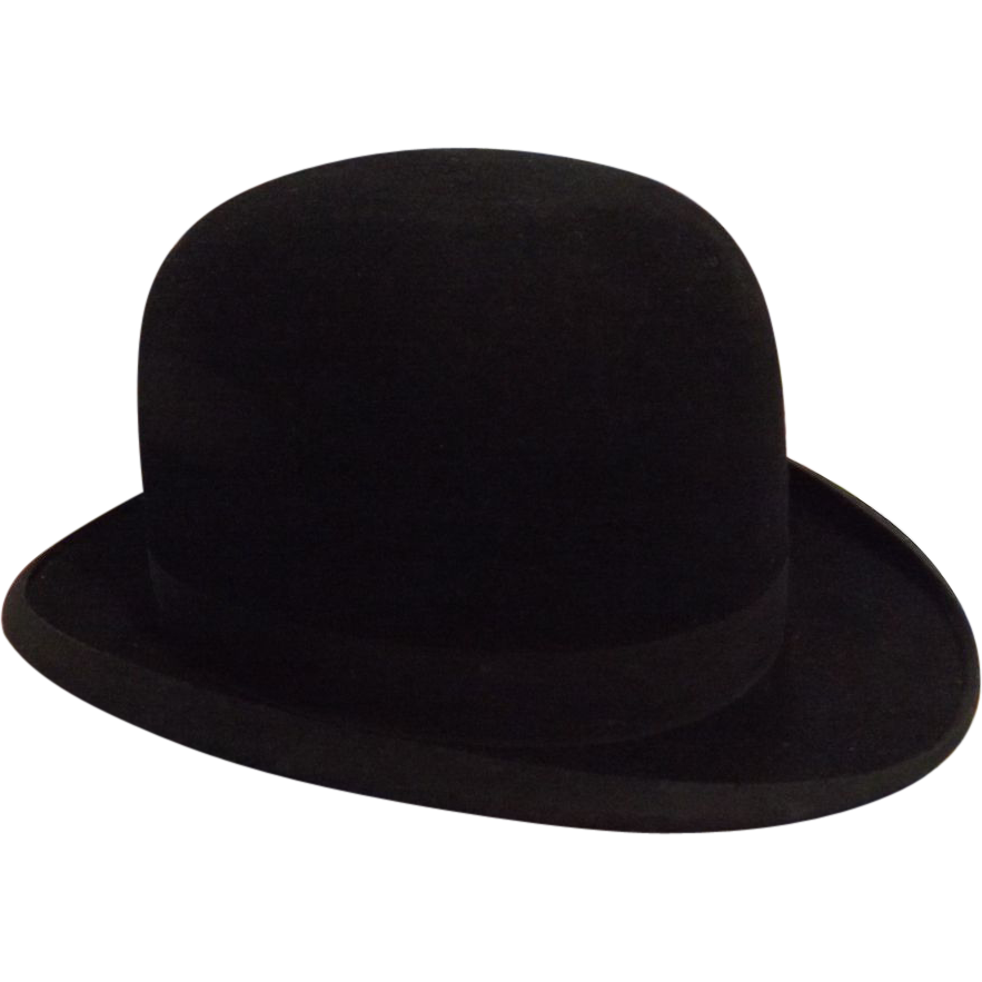 A Bowler Hat By Bad Homburg of Germany - Circa Early 1900's