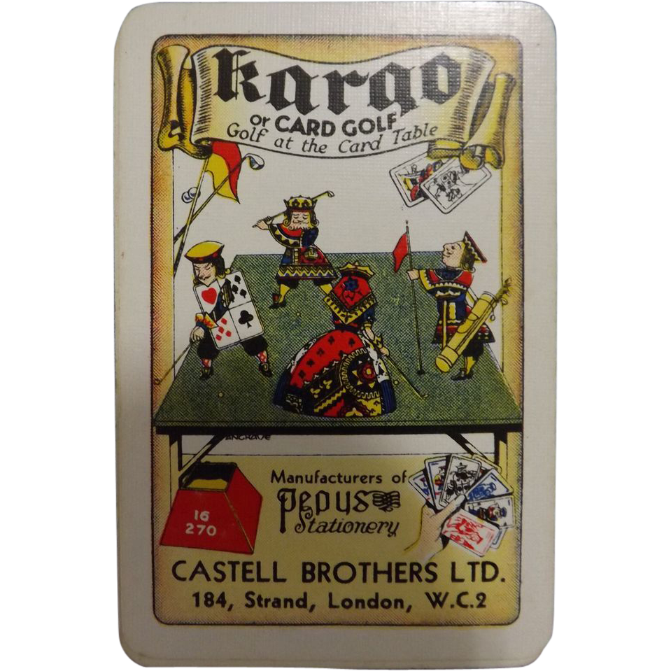 Kargo -Vintage Card Game for Golfers