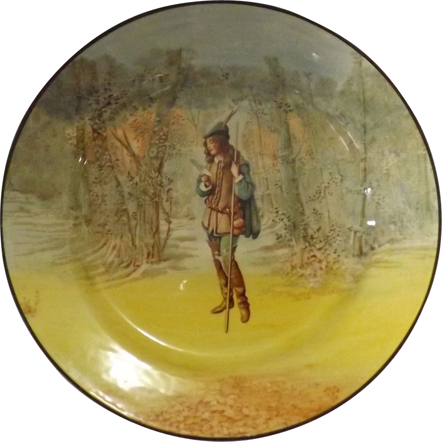 Royal Doulton Shakespeare Series Plate 'ROSALIND' Series D3596