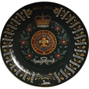 Kings Regiment British Army Collectors Plate