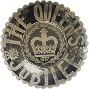 Queen Victoria's 50th Jubilee 1887 - Commemorative Glass Bowl