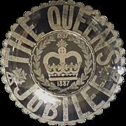 Queen Victoria's 50th Jubilee 1887 - Commemorative Glass Bowl