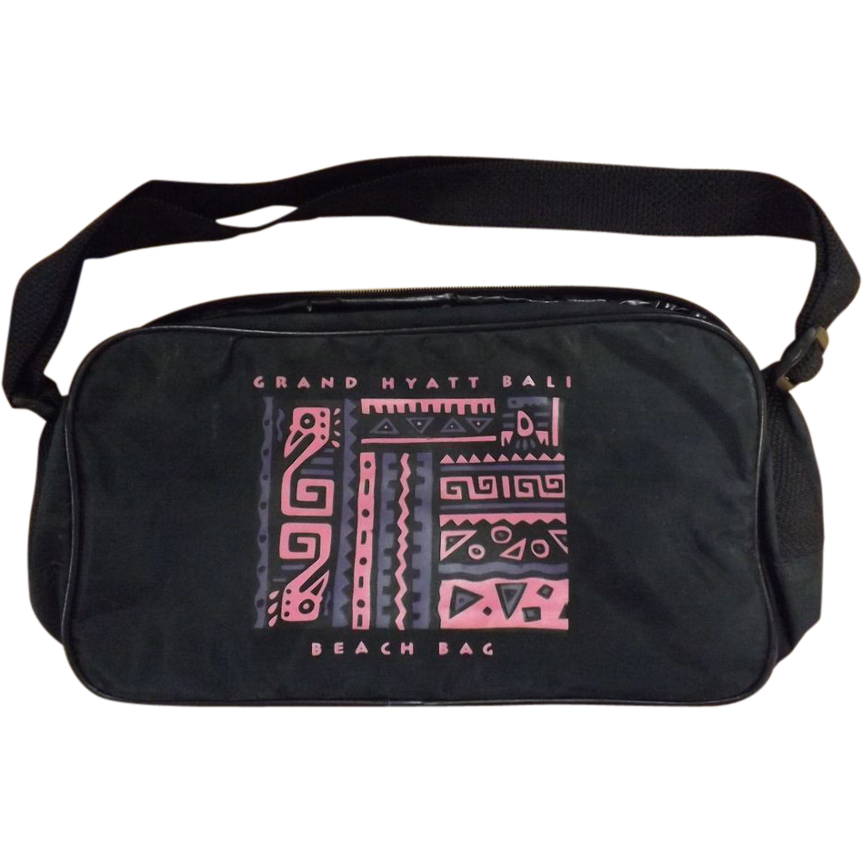 Grand Hyatt Bali Beah Bag - Circa 1980