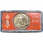 The Queen Victoria BOER WAR Gift Tin - 1900